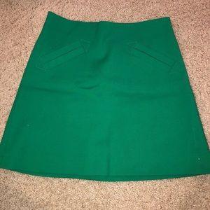 Zara Green Miniskirt
